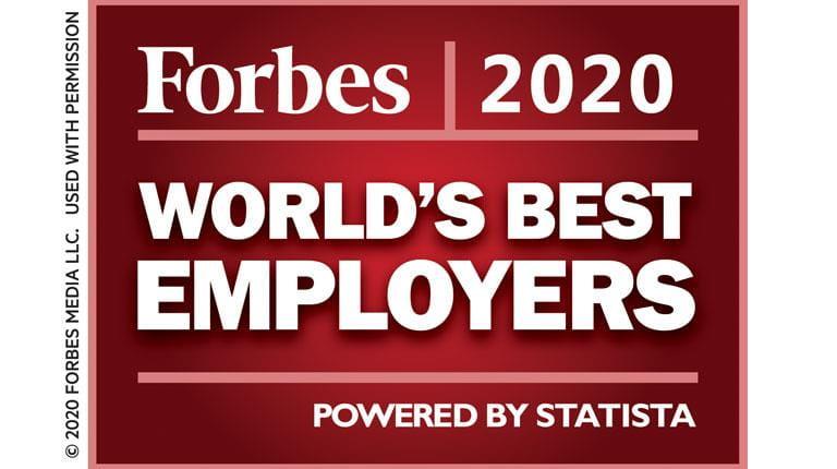 Forbes Best Employer 2020