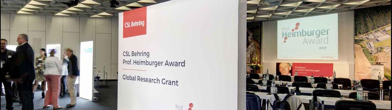 Professor Heimburger Award